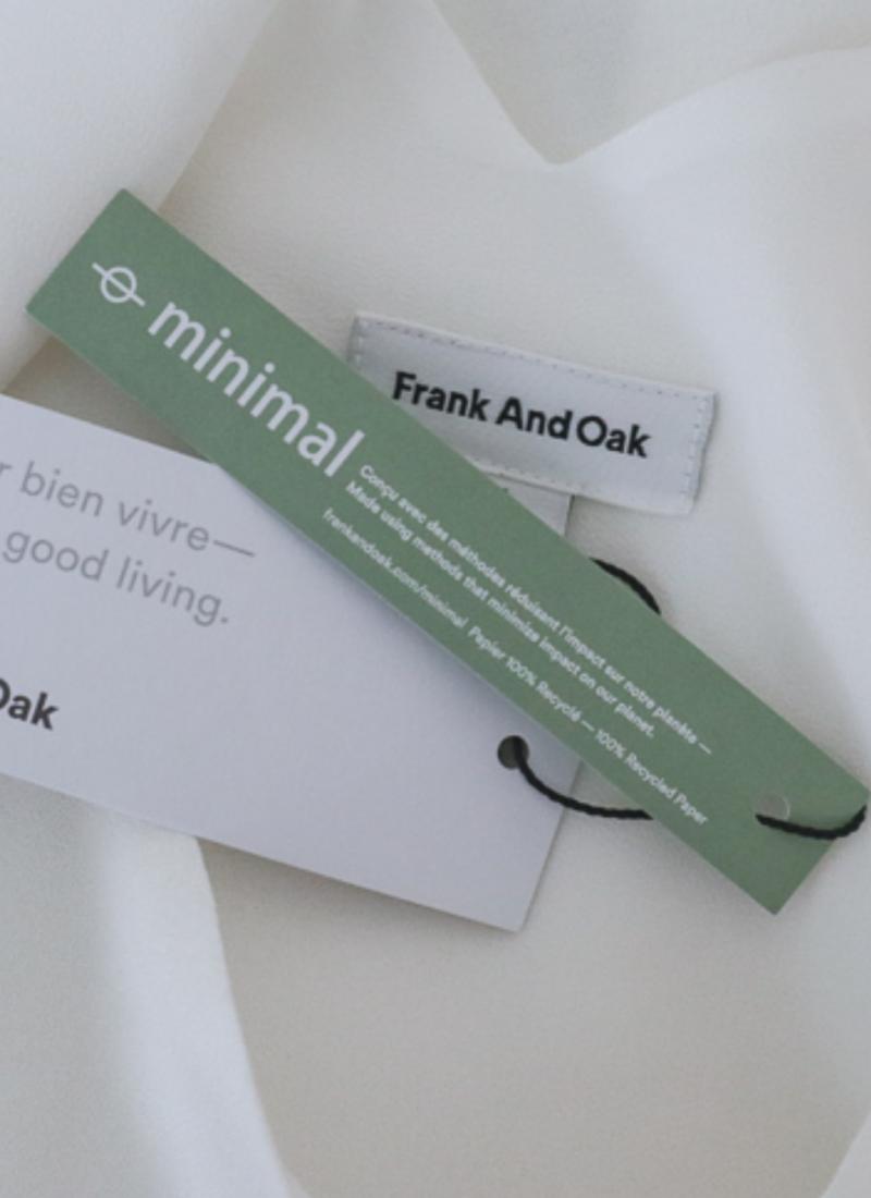 VICKI TRIES; Frank and Oak Style Plan