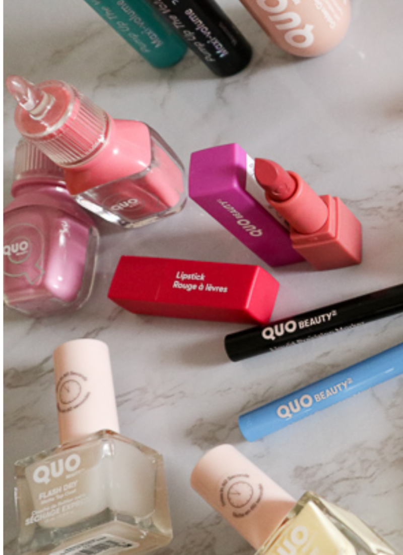 MAKEUP REVIEW; QUO Beauty (PLUS a Giveaway!)
